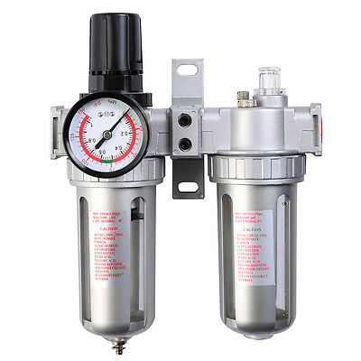 Goplus SFC-300 Pneumatic Air Filter Pressure Regulator lubricator Combination