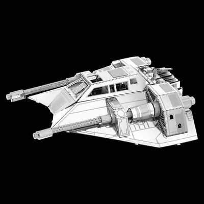 Metal Earth Star Wars Snowspeeder DIY lasercut 3D steel model kit