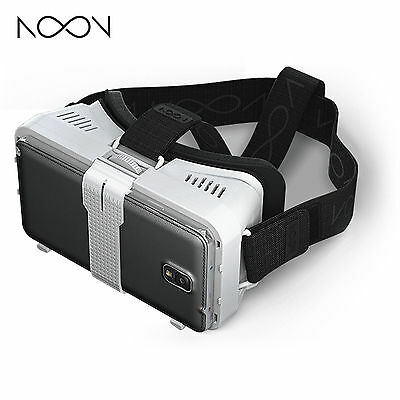 Brand New! NextCore Noon VR Headset for Android/iOS Smartphones [Black]