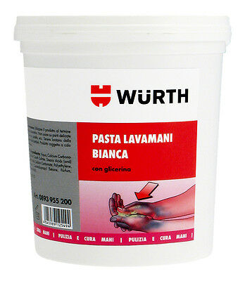 Pasta Lavamani BIANCA 4 Lt Wurth Secchiello dispenser