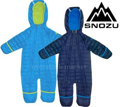 6e960ff83 New Boys Snozu Fleece Lined Quilted Snowsuit! Winter Snowsuit! Variety  Sz/Color