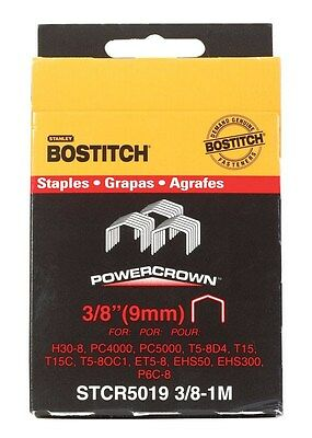 """Stanley Bostitch Crown Staples 3/8 """" Length"""