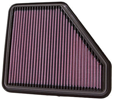 K&N Air Filter Element 33-2953 (Performance Replacement Panel Air Filter)