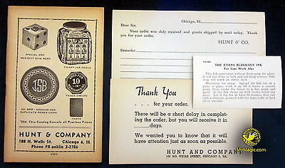 Original Hunt & Company Gambling Cheating Catalog Package