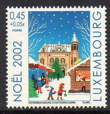 LUXEMBOURG MNH 2002 The Christmas Market