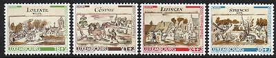 LUXEMBOURG MNH 2000 Town View from National Archives