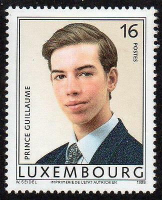 LUXEMBOURG MNH 1999 The 18th Anniversary of the Birth of Prince Guillaume
