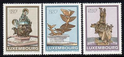 LUXEMBOURG MNH 1990 Fountains