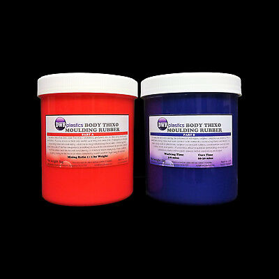RTV Skin Safe Thixo Body Silicone Mould Making Rubber 2kg