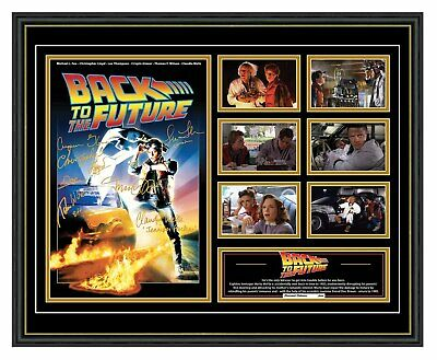 Back To The Future Michael J Fox Signed Limited Edition Framed Memorabilia