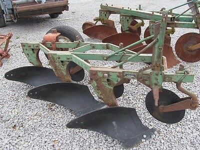 45 John Deere 3 Bottom Plow Implement 14 Inch