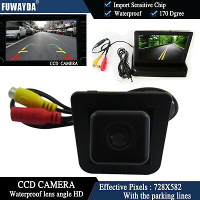 4.3'' Foldable  CCD Monitor Reverse Camera for Benz S-Class S-Klasse GLK300