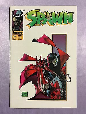 Spawn #21~Very Low Print Run~Todd Mcfarlane Story And Art~1994~