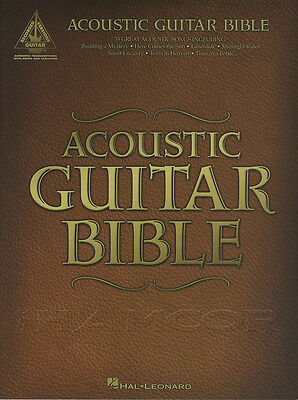 Acoustic Guitar Bible TAB Music Book Guitar Recorded Versions Beatles Who Bowie