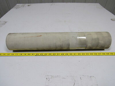 """2 Ply Grey PVC Smooth Top Conveyor Belt 12Ft X 23-3/4"""" 0.050"""" Thick"""