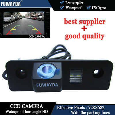 CCD Car Rear View Reverse Parking Camera for  SKODA ROOMSTER OCTAVIA FABIA