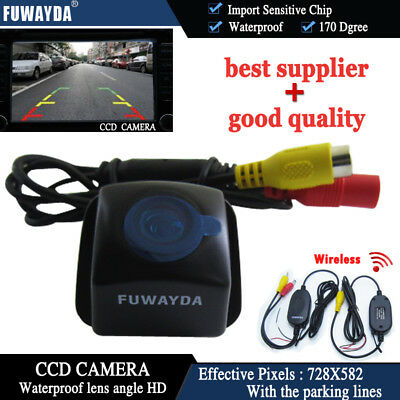 Wireless CCD Rear View Reverse Camera for Toyota Prius06-10 Camry 09 10