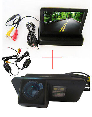 Wireless 4.3'' Monitor Car Reverse Camera for FORD MONDEO/FIESTA/FOCUS/S-Max