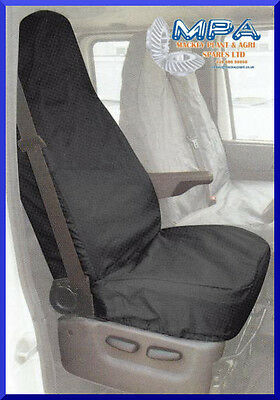 Toyota Hiace Tailored Seat Front Cover Grey (2004-2015) Fitted Heavy Duty