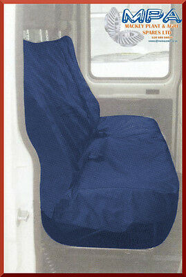 Ford Transit Tailored Rear Crewcab Seat Cover Blue (2007-) Fitted