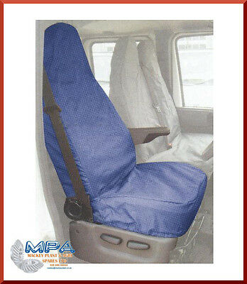 Ford Transit Tailored Seat Front Cover Blue (2007-) Fitted