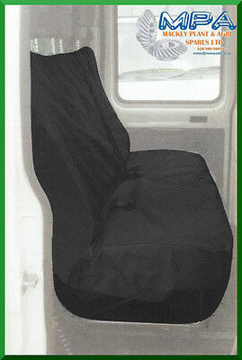 Ford Transit Tailored Rear Crewcab Seat Cover Black (2007-) Fitted