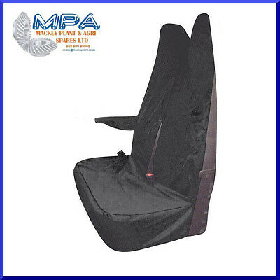Ford Transit Tailored Passenger Double Seat Front Cover Grey (2007-) Fitted