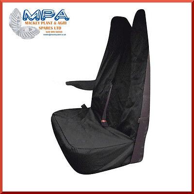 Ford Transit Tailored Passenger Double Seat Front Cover Black (2007-) Fitted