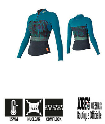 Neoprene Top 1,5 Women Teal Jobe - Du XS au XL - Chaud - doux - SUP Paddle