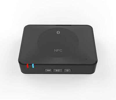 Professional Wireless NFC Bluetooth Stereo Audio Music Speaker Receiver Adapter