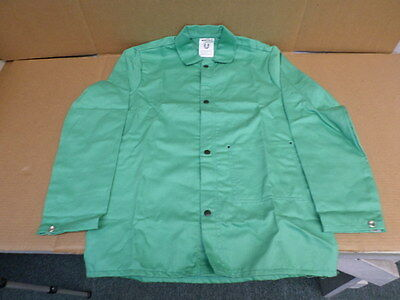 Magid Glove & Safety Mfg. Co. 1830 Spark Guard Green Weld Jacket