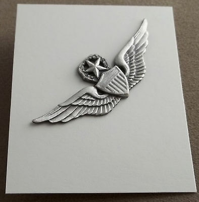 US Army Master Aviator Pilot Wing / Badge / Clutchback