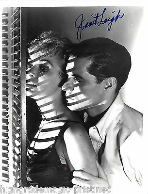 "Janet Leigh (Deceased) From ""psycho"" Signed 8X10 Jsa Authenticated Coa # N38951"
