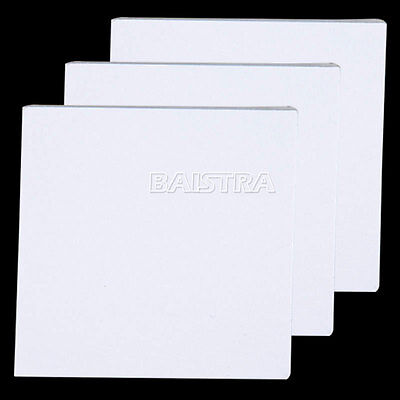 3 X Dental Mixing Pad 5.1 x 5.1cm (2x2 inch) 50Sheets/Pad Bounded on 2 Sides