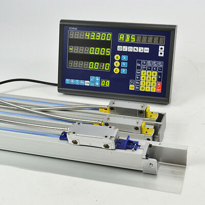 3 Axis Dro Display Digital Readout Mill Lathe Machine With Linear Encoder Scales