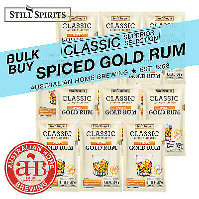 Still Spirits Classic Spiced Gold Rum x8 essence homebrew spirits distilling