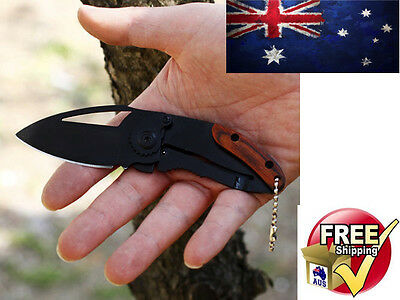Folding Pocket Knife Fishing Camping Outdoors Hunting Tactical Flick 2 Lock Out