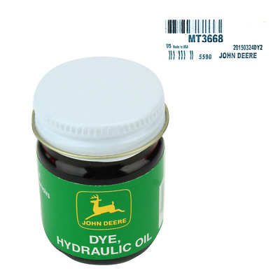 John Deere Original Equipment Hydraulic Oil Dye #MT3668