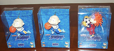1999 Nickelodeon Rugrats Christmas Ornaments - Lot of 3