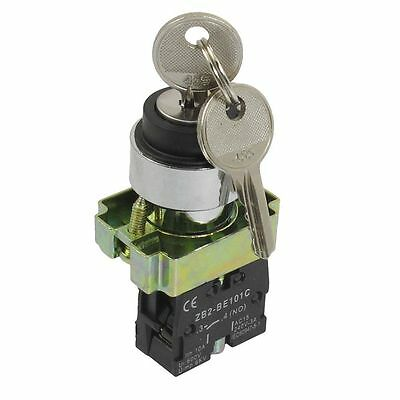 22MM  PANEL MOUNT KEYSWITCH  ISOLATOR 2 POSITION on/off 1 N/O contact XB2-BG21
