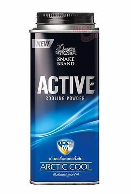 NEW Snake Brand Active Cooling Body Powder ARCTIC COOL 150g