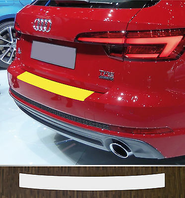 Lackschutzfolie Boot edge protection clear Audi A4 B9 Avant, ab 2015