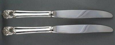TWO 1847 Rogers Bros. Eternally Yours Luncheon Knives TWO