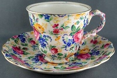 James Kent Rosalynde Chintz Cup & Saucer