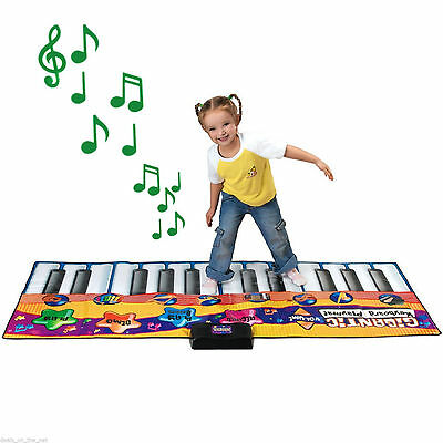 Electronic Jump Dance Walk On Piano Keyboard Musical Touch Playmat Play Mat Kids