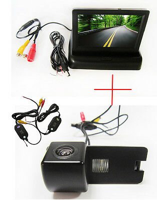 Wireless 4.3'' Monitor Car Reverse Camera for Holden Commodore VY VZ VE1