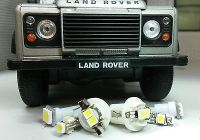 Xenon White SMD LED Dash Instrument Speedo Land Rover Defender 90/110 TD5 kit