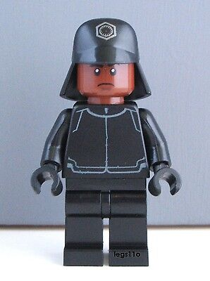 LEGO Star Wars Force Awakens First Order Crew minifigure NEW OFFICIAL 75132