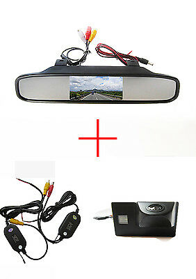 Wireless 4.3'' CCD Monitor Reverse Camera for TOYOTA Land Cruiser LC 100 120