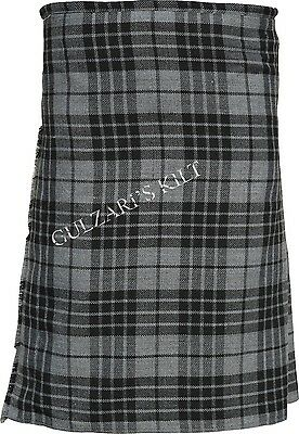 Granite Gray Tartan Scottish Traditional New Kilts
